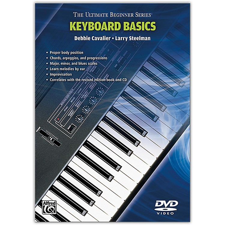 Warner Bros Ultimate Beginner Series - Keyboard Basics DVD