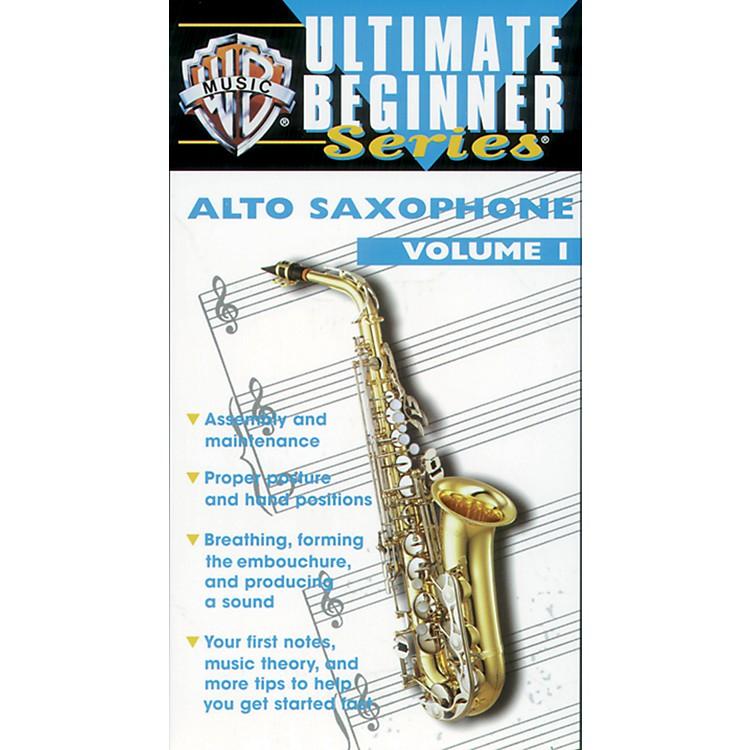 AlfredUltimate Beginner Series: Alto Saxophone, Volume I Video