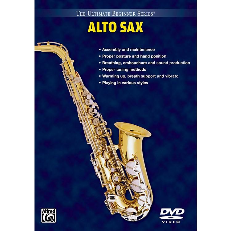 AlfredUltimate Beginner Series: Alto Saxophone Volumes I & II DVD