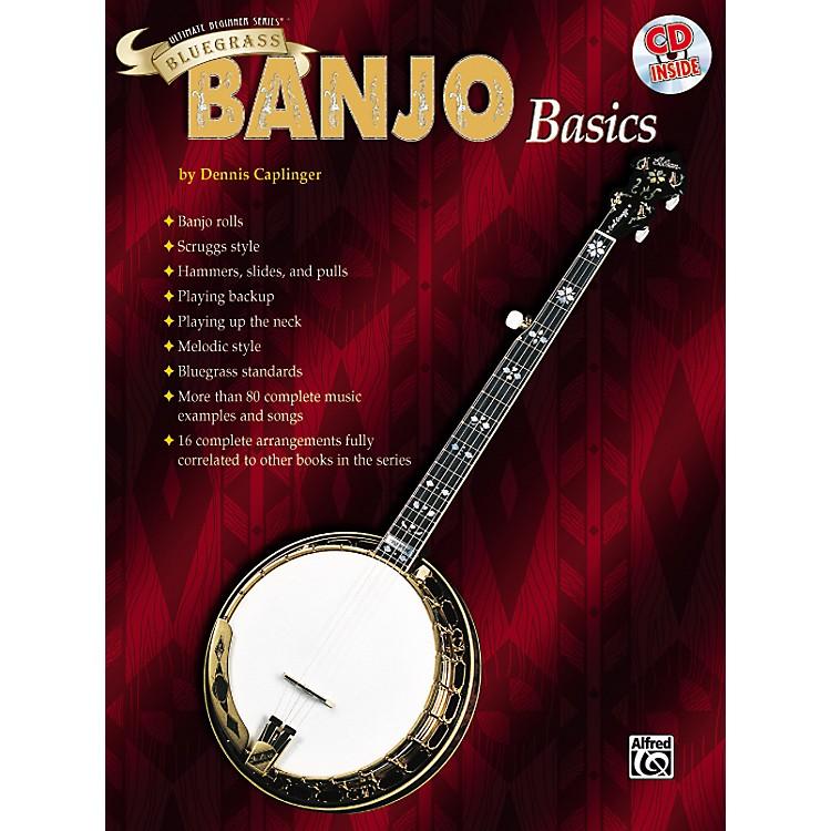 AlfredUltimate Beginner Series Bluegrass Banjo Basics Book & CD