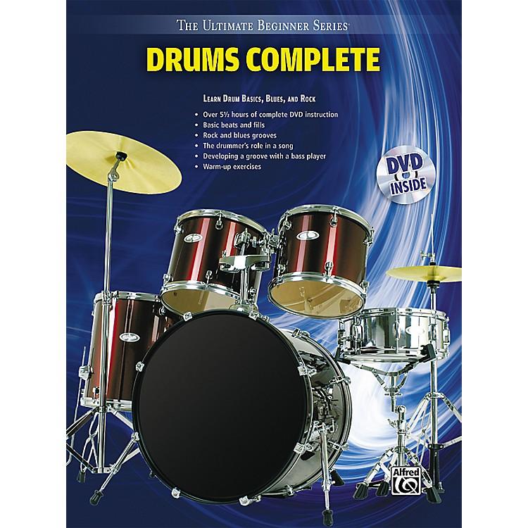 AlfredUltimate Beginner Series Drums Complete Book & DVD