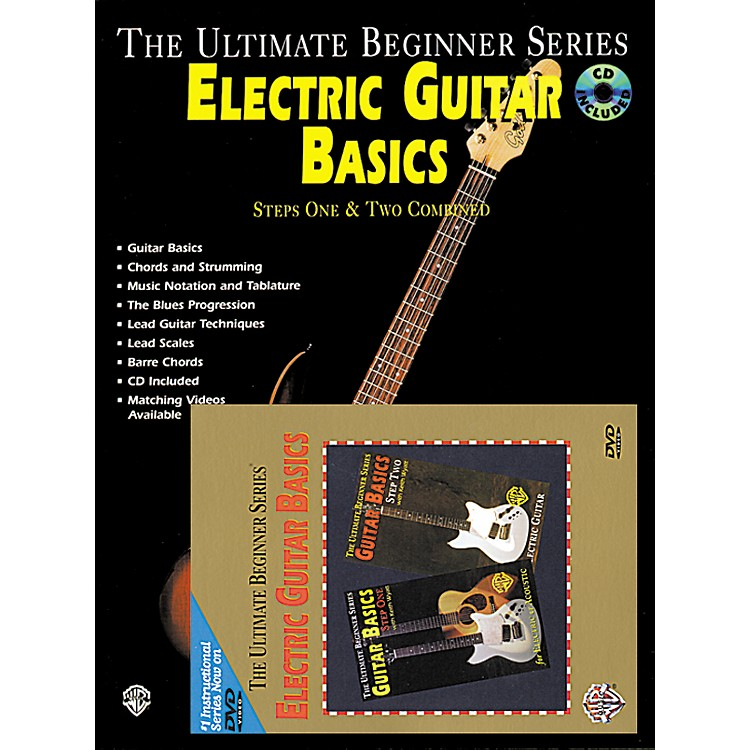 alfred ultimate beginner series electric guitar basics book cd dvd music123. Black Bedroom Furniture Sets. Home Design Ideas