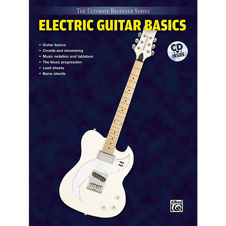 Alfred Ultimate Beginner Series Electric Guitar Basics Book & CD