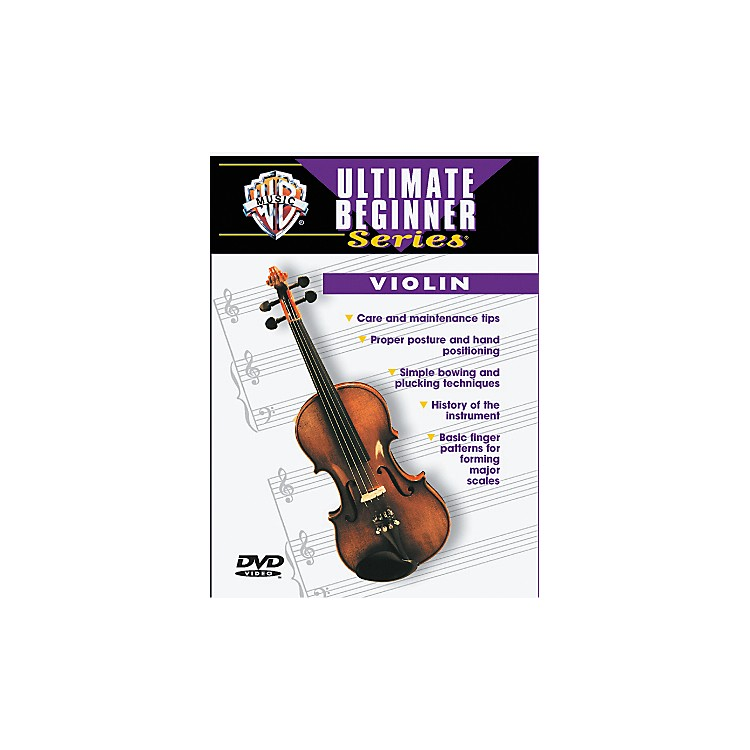 Warner Bros Ultimate Beginner Series Violin (DVD)