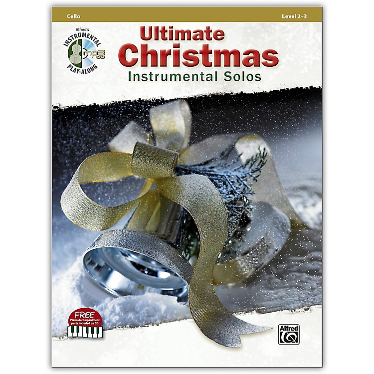 Alfred Ultimate Christmas Instrumental Solos Cello Book & CD