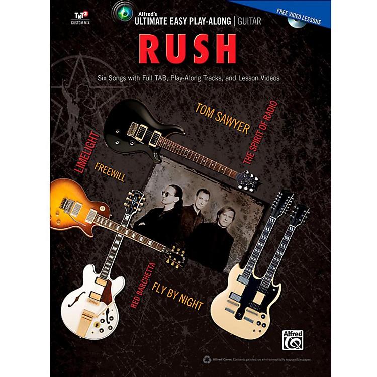 AlfredUltimate Easy Guitar Play-Along: Rush - Easy Guitar TAB Songbook & DVD