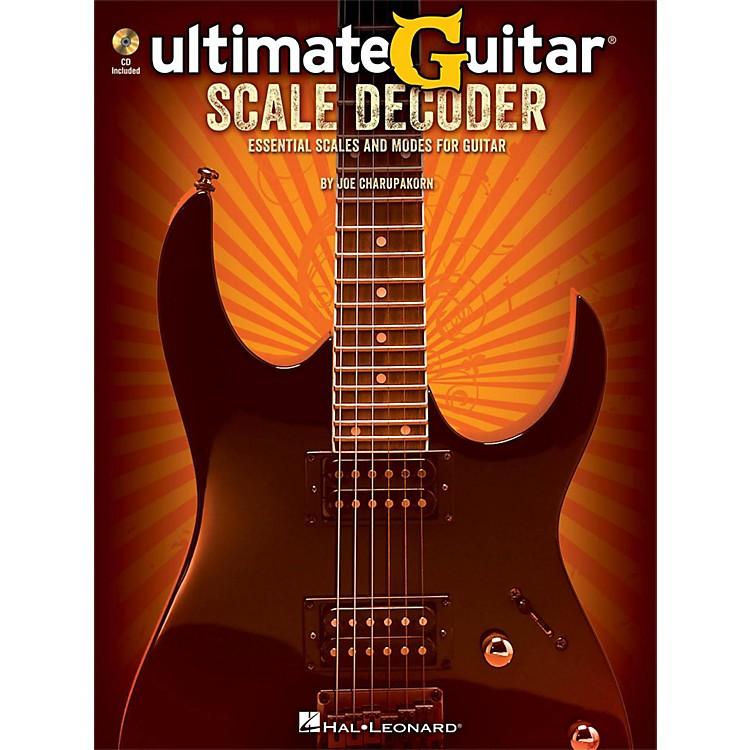 Hal LeonardUltimate-Guitar Scale Decoder Book/CD