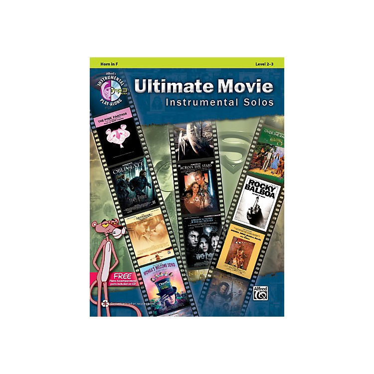 AlfredUltimate Movie Instrumental Solos for French Horn Book & CD