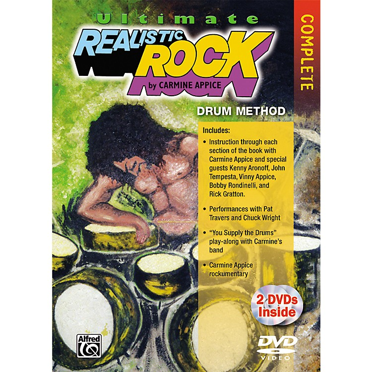 AlfredUltimate Realistic Rock Complete Drum Method DVD