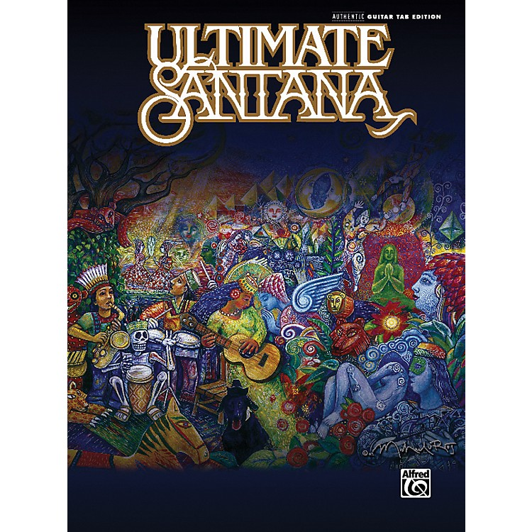 Alfred Ultimate Santana Guitar Tab Book