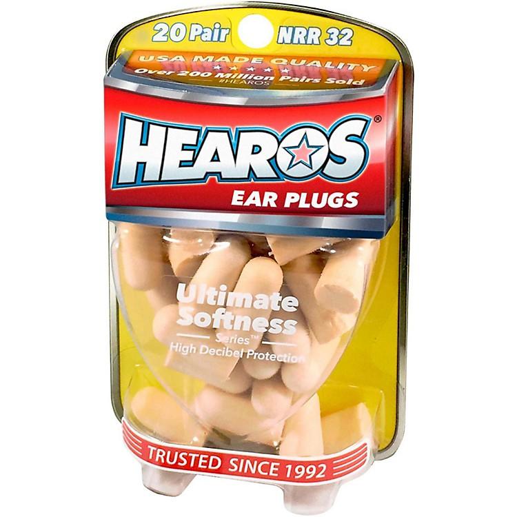 HearosUltimate Softness Bulk Pack Ear Plugs 20-Pairs