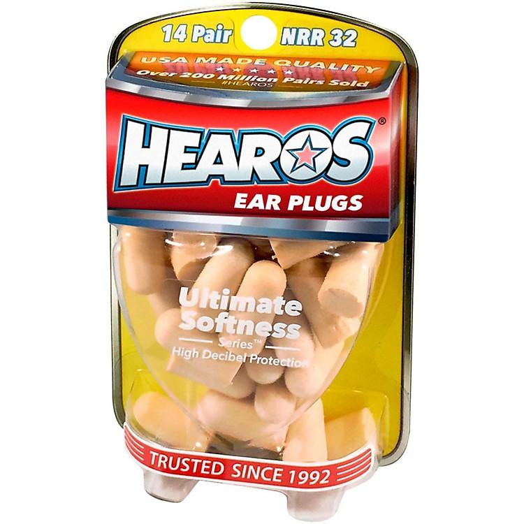 HearosUltimate Softness Series Ear Plugs 14 Pair + Free Case
