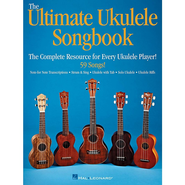 Hal LeonardUltimate Ukulele Songbook - The Complete Resource For Every Uke Player
