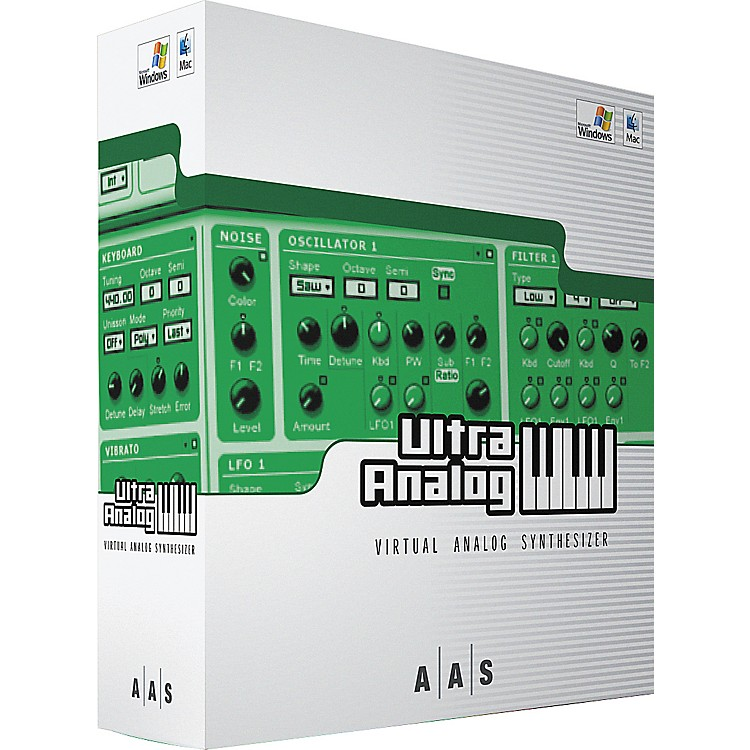 AAS Ultra Analog - Virtual Analog Synthesizer Software