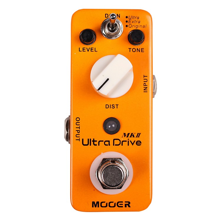 Mooer Ultra Drive MKII Micro Distortion Guitar Effects Pedal