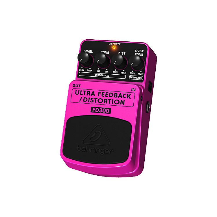 Behringer Ultra Feedback/Distortion FD300 Effects Pedal