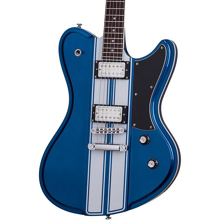 Schecter Guitar ResearchUltra GT Electric GuitarMetallic Blue with White Stripe