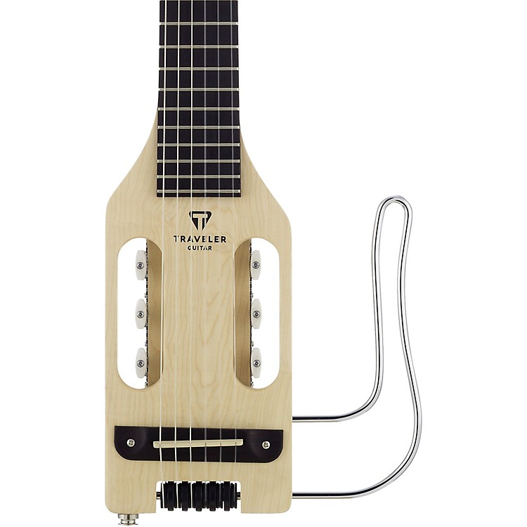 Traveler Guitar Ultra-Light Nylon Acoustic-Electric Travel Guitar Natural