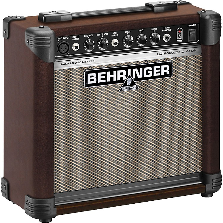 BehringerUltracoustic AT108 Acoustic Combo Amp