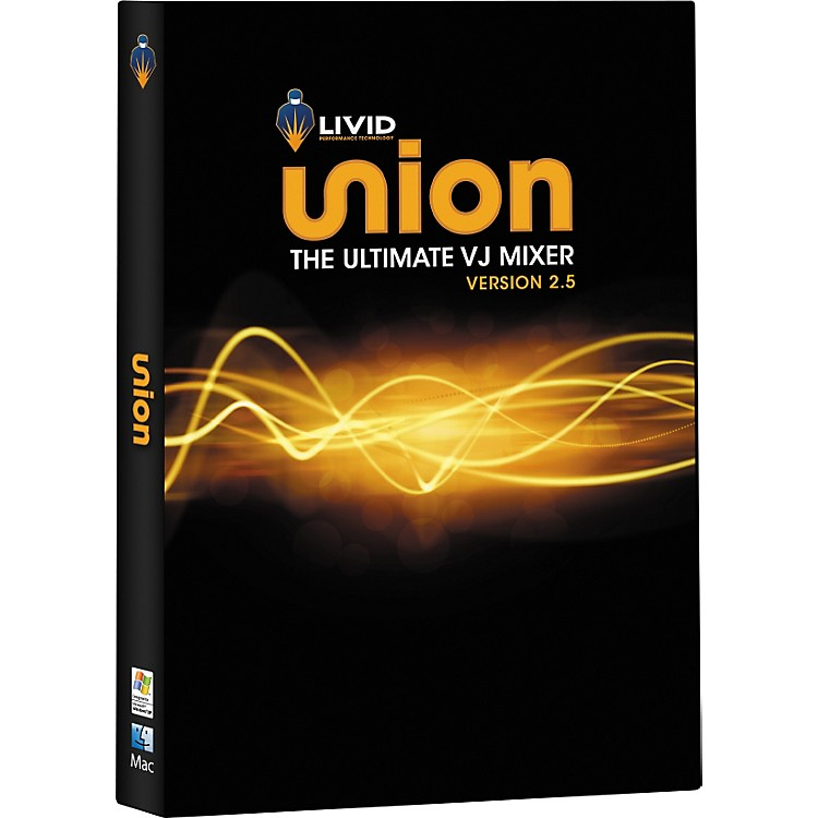 LividUnion v2.5 Video Mixing Software