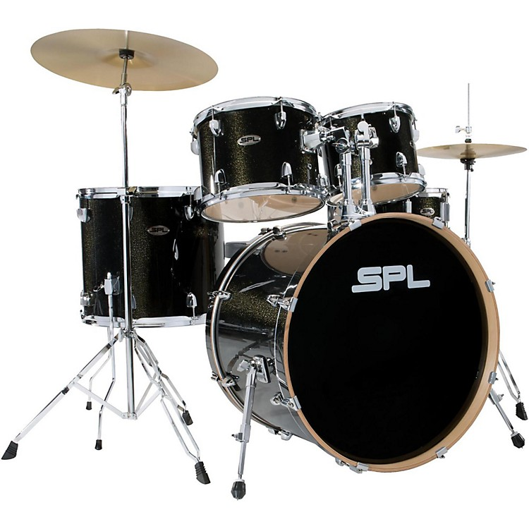 Sound Percussion LabsUnity Birch Series 5-Piece Complete Drum SetBlack Mist