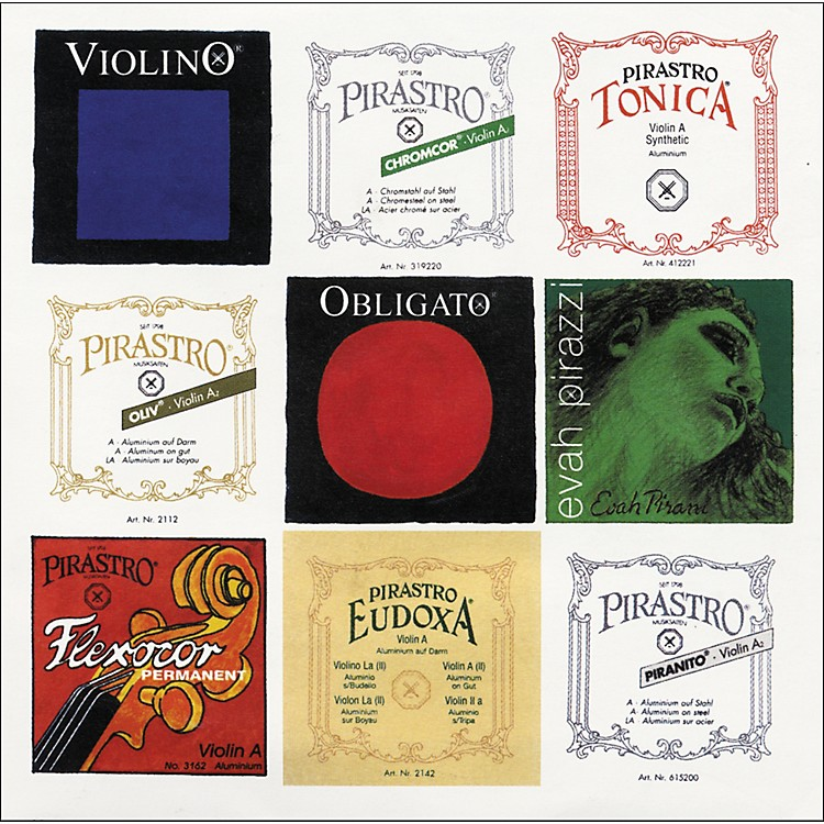 PirastroUniveral No.1 Series Violin E String4/4 String Ball End Medium
