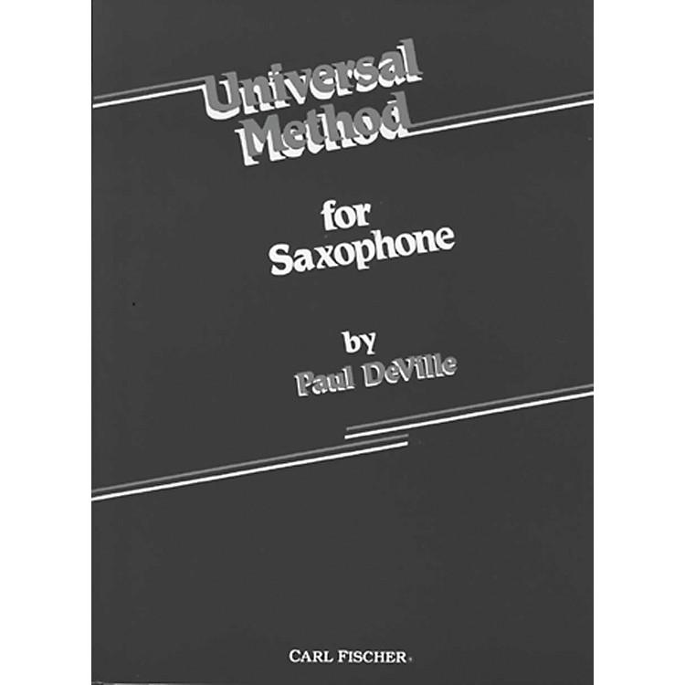 Carl FischerUniversal Method For Saxophone