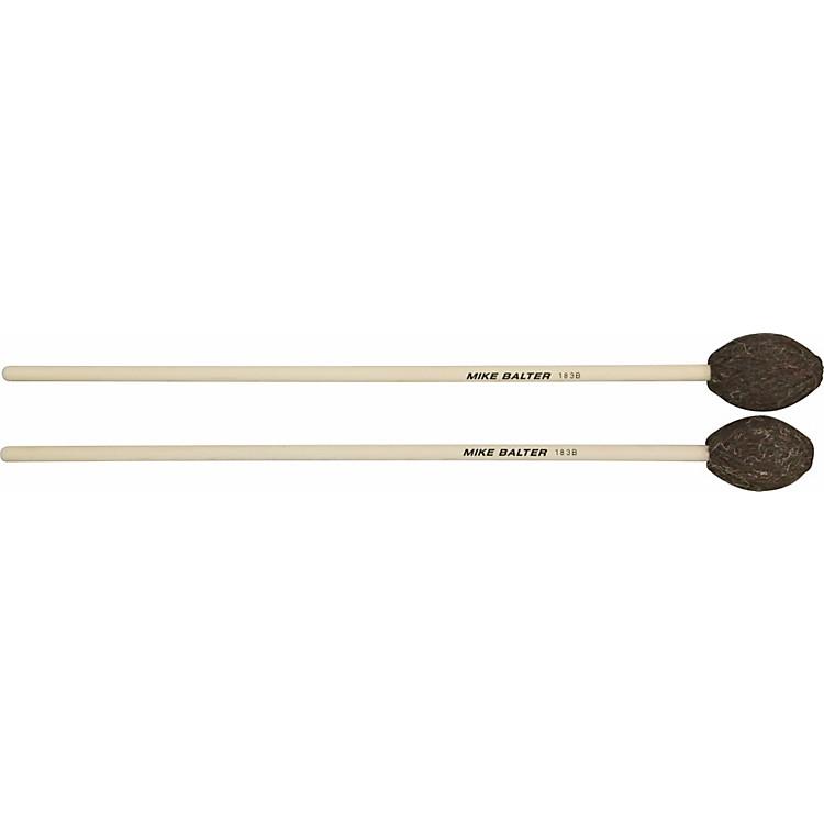 Mike BalterUniversal Series Birch Handle Marimba MalletsBrown YarnMedium-Hard to Hard