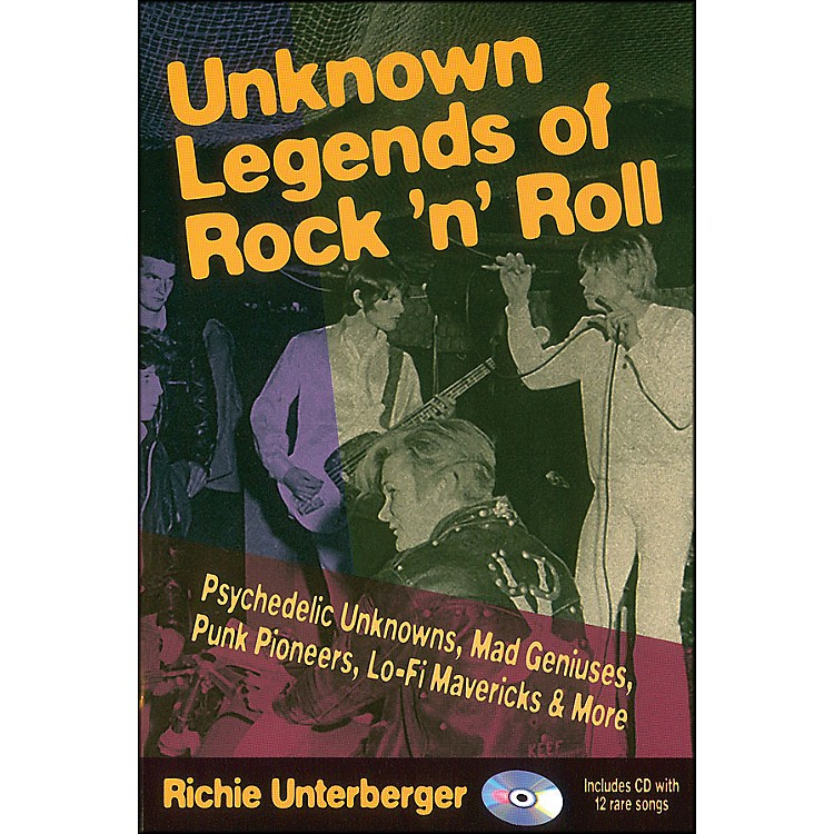 Backbeat BooksUnknown Legends Of Rock 'N' Roll Book/CD