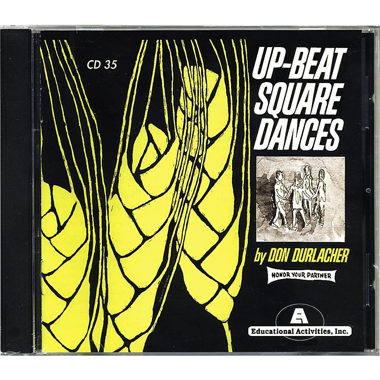 Educational Activities Up Beat Square Dances Cd