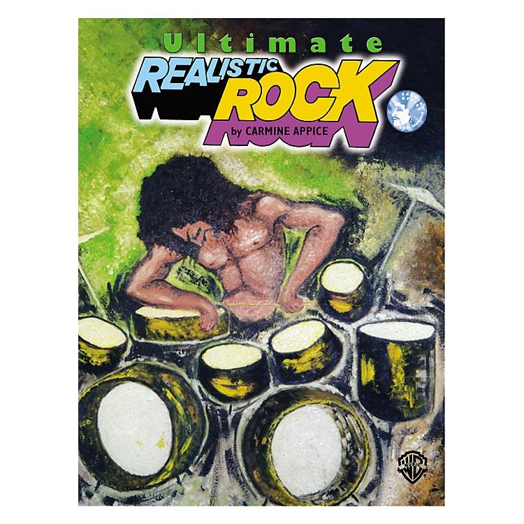 AlfredUpdated Realistic Rock Drum Method Book/2 CD Set