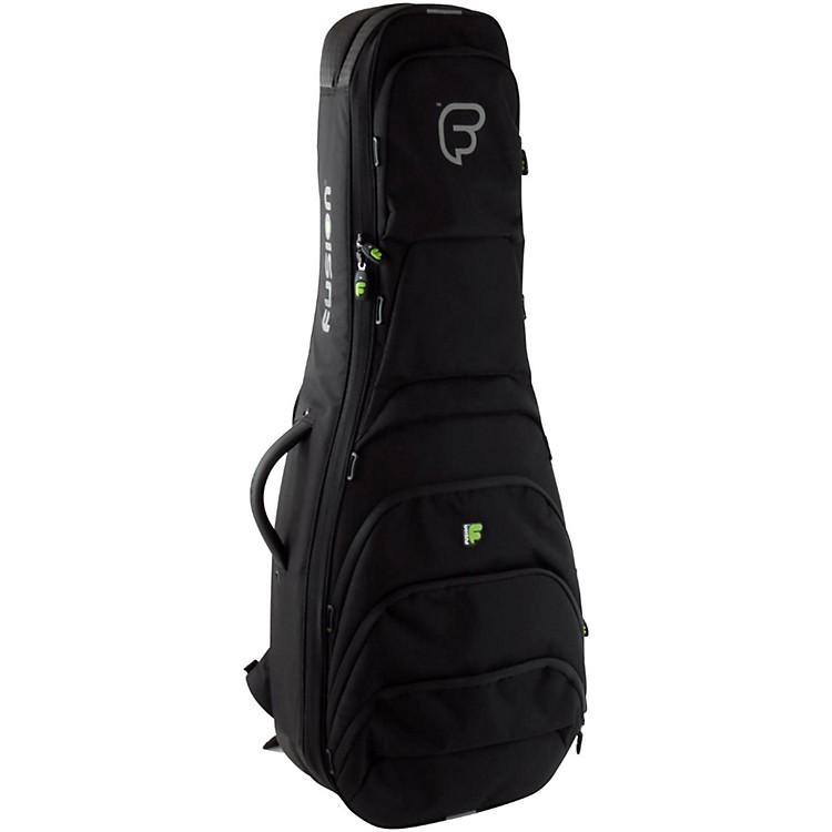FusionUrban UG-06-BK Double Electric Bass Guitar Gig Bag
