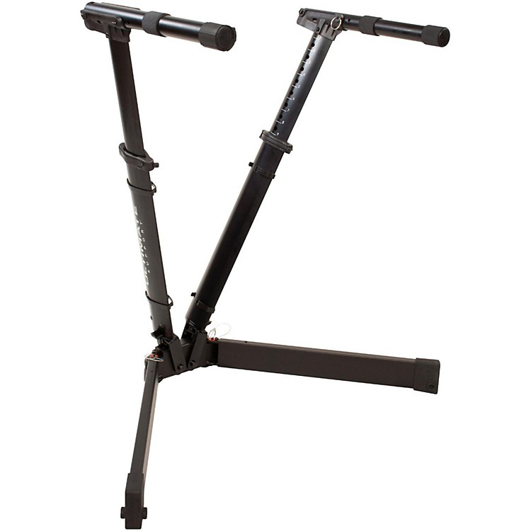 Ultimate Support V-Stand Pro V-Style Keyboard Stand Black