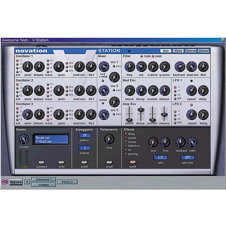 NovationV-Station Soft Synth