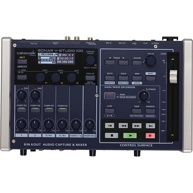 Cakewalk V-Studio 100 Portable Music Studio