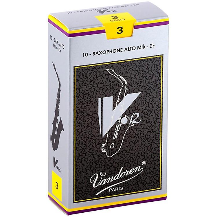 VandorenV12 Alto Saxophone ReedsStrength 3, Box of 10