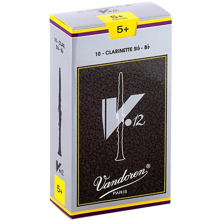 VandorenV12 Bb Clarinet ReedsStrength 5+Box of 10