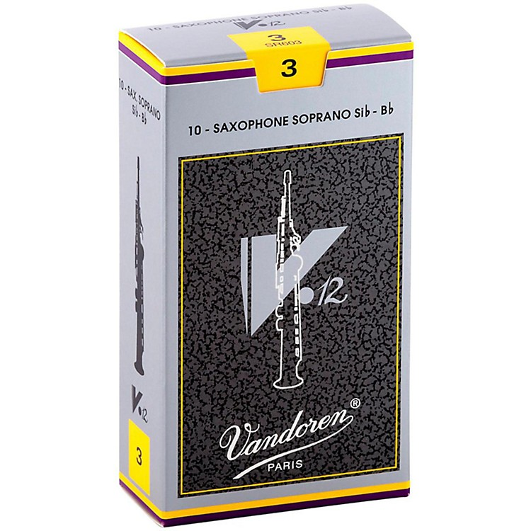 VandorenV12 Series Soprano Saxophone Reeds