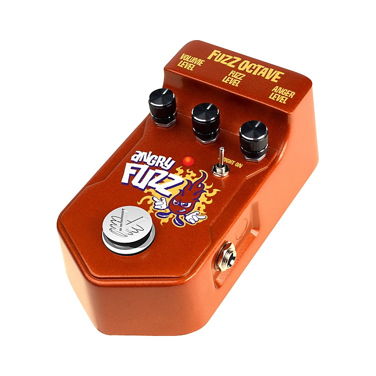 Visual SoundV2 Series V2AF Angry Fuzz Octave Guitar Effects Pedal