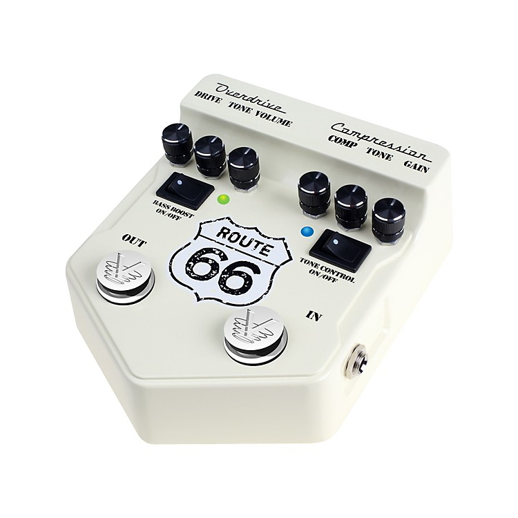 Visual Sound V2 Series V2RT66 Route 66 Overdrive and Compression Guitar Multi Effects Pedal