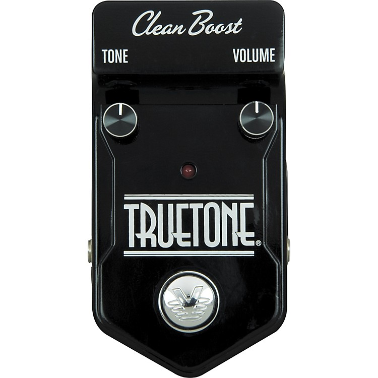 Visual Sound V2 Truetone Boost Guitar Effects Pedal Black