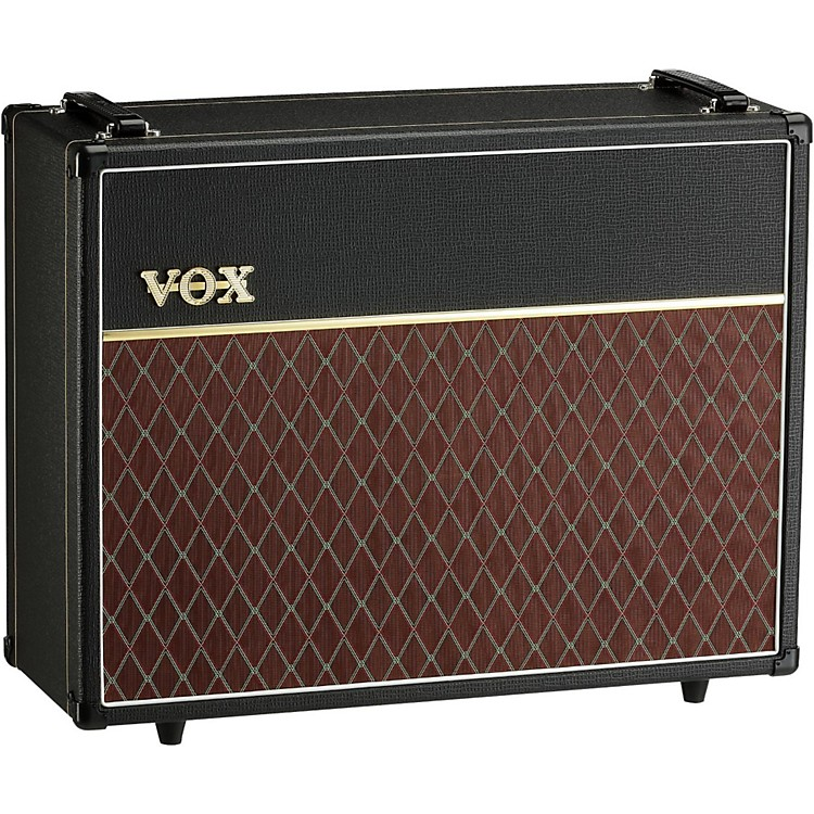 Vox V212C Custom 2X12 Speaker Cabinet Black