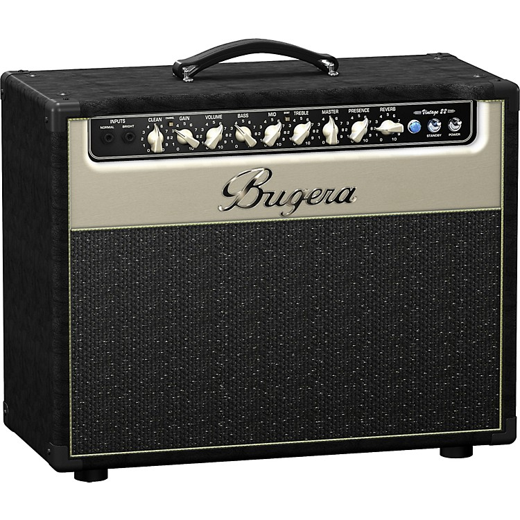 BugeraV22 22W 1x12 Tube Guitar Combo AmpBlack