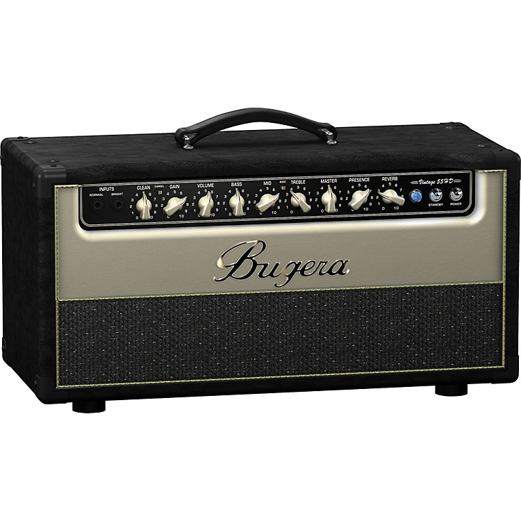 Bugera V55HD 55W Tube Guitar Amp Head Black