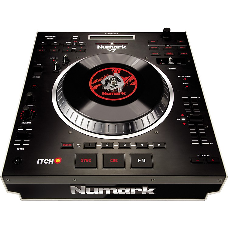 Numark V7 Motorized Turntable Software Controller