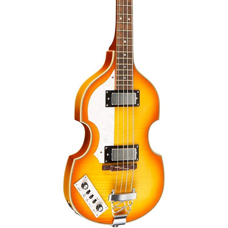 RogueVB100LH Left-Handed Violin Bass GuitarVintage Sunburst