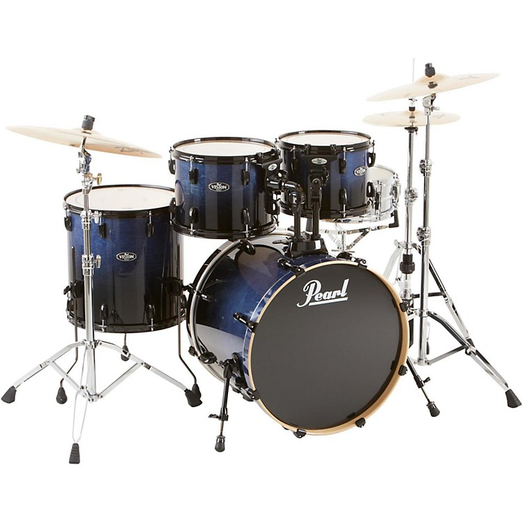 Pearl VBL Vision Birch 5 Piece Shell Pack Concord Fade with Black Hardware
