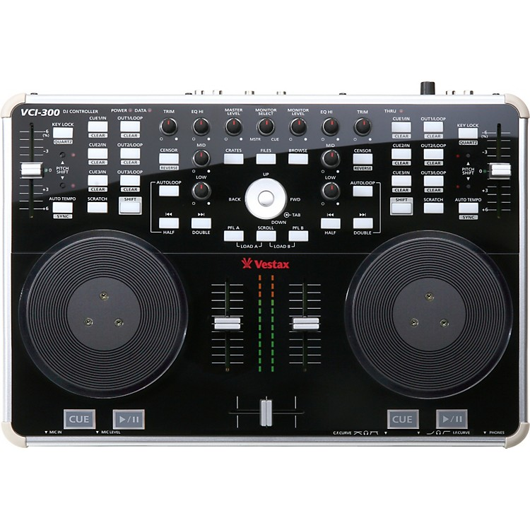 Vestax VCI-300 DJ Controller with Serato ITCH Black