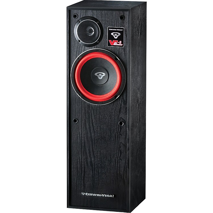 Cerwin-Vega VE-8 2-way Tower Speaker