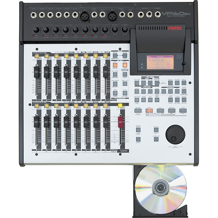 FostexVF160EX 16-Track Recorder with CD Burner